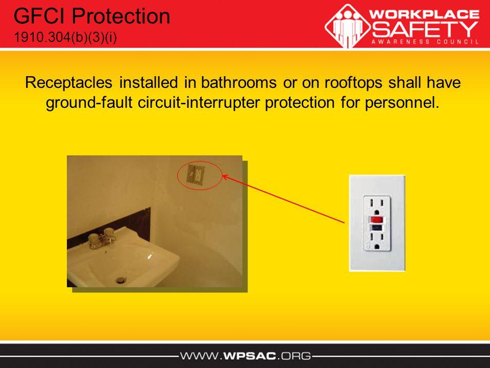 GFCI Protection 1910.304(b)(3)(i)
