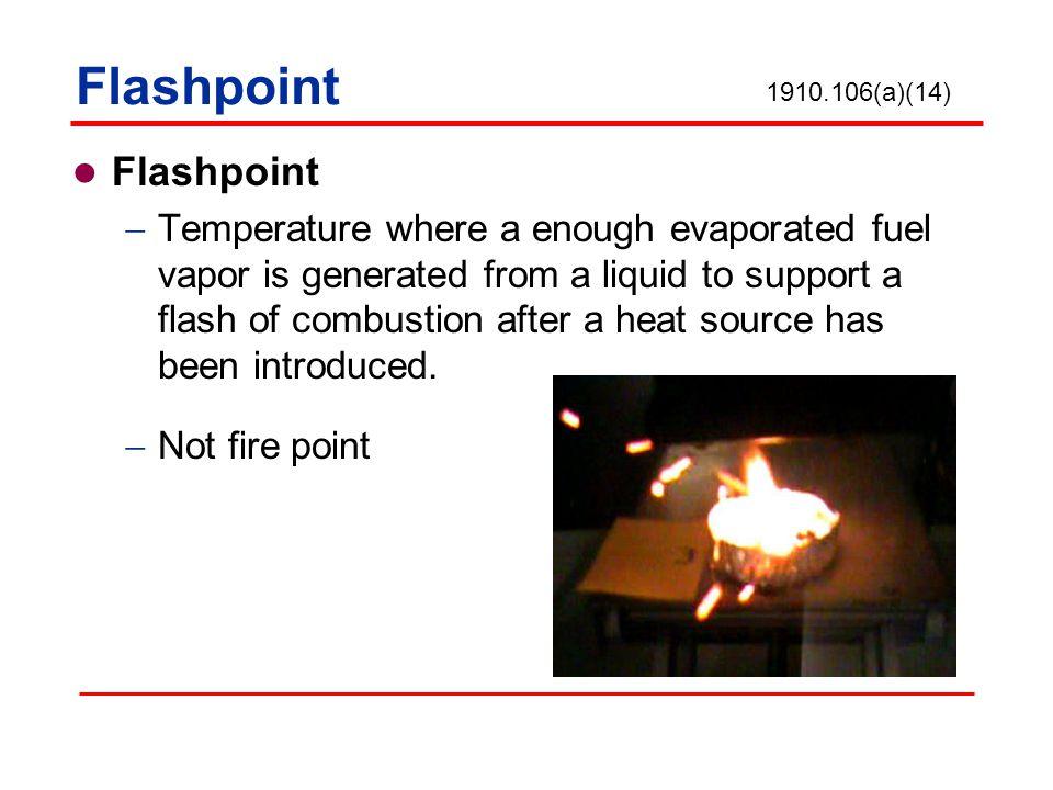 Flashpoint Flashpoint