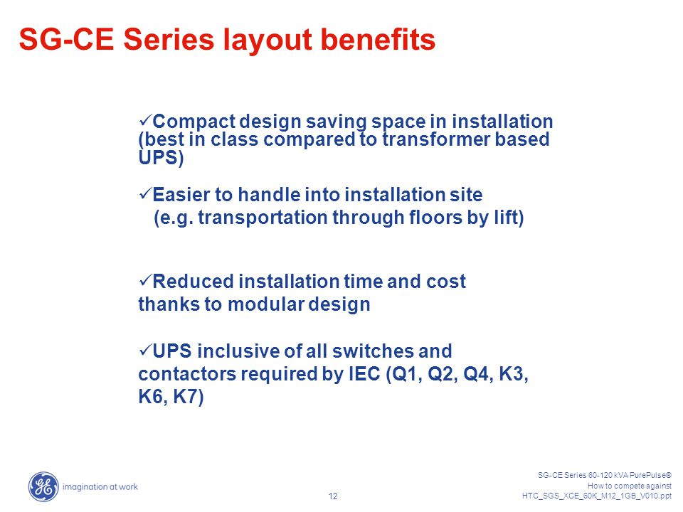 SG-CE Series layout benefits