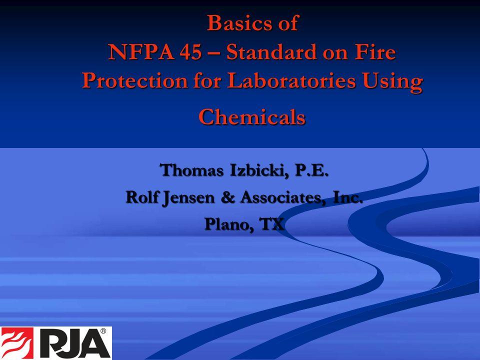 Thomas Izbicki, P.E. Rolf Jensen & Associates, Inc. Plano, TX