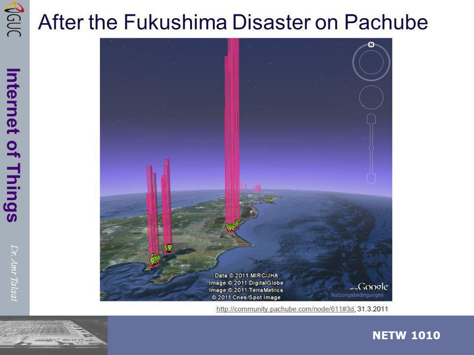After the Fukushima Disaster on Pachube