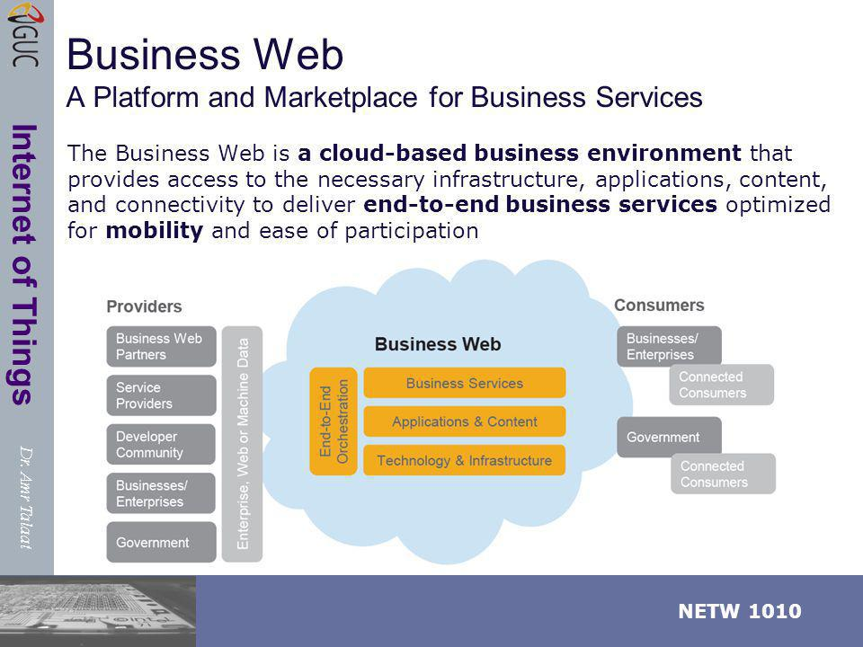 Business Web A Platform and Marketplace for Business Services