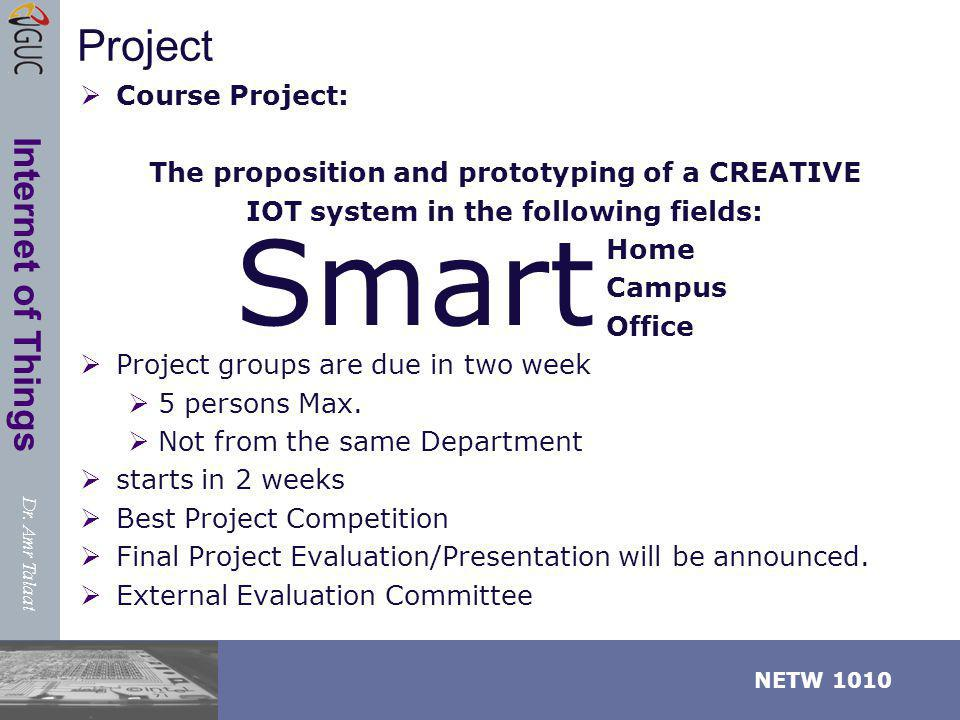 Smart Project Course Project: