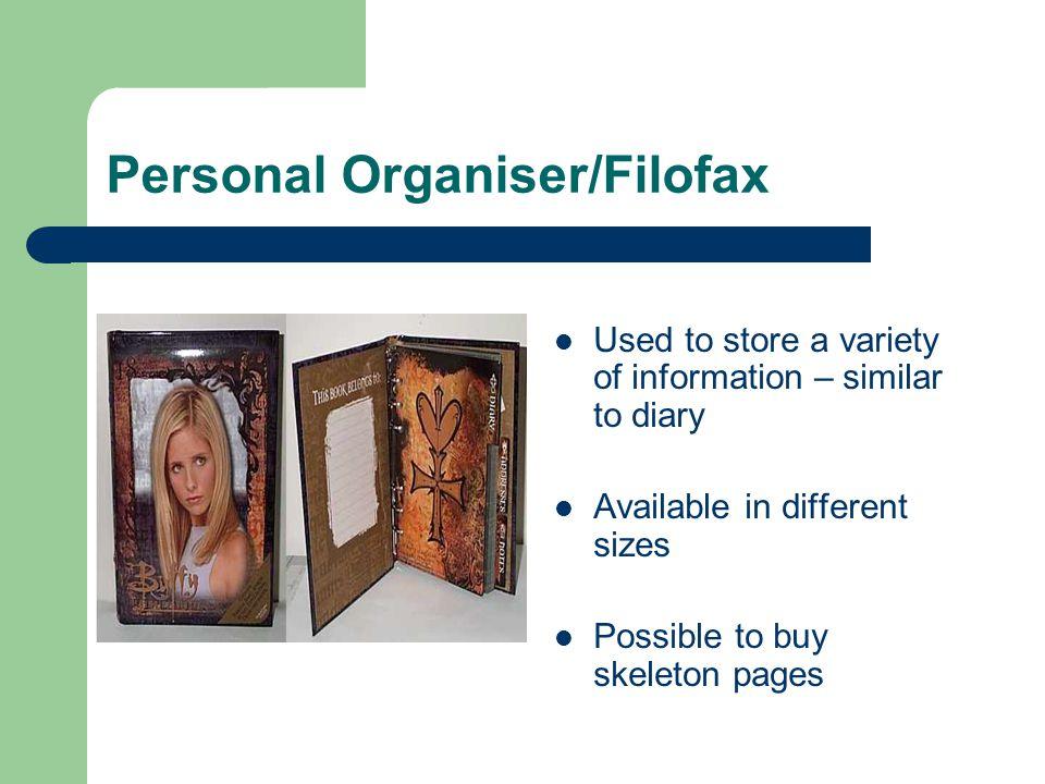Personal Organiser/Filofax