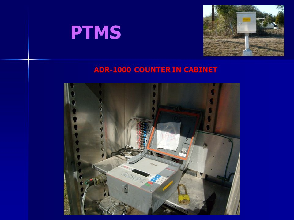 ADR-1000 COUNTER IN CABINET
