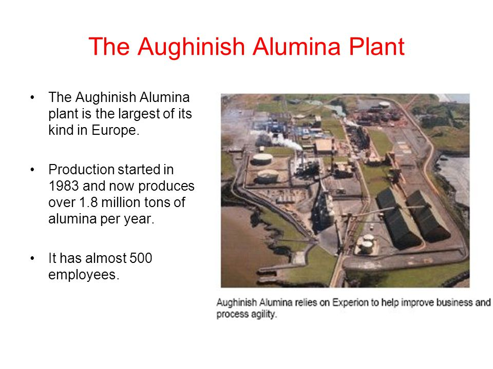 The Aughinish Alumina Plant
