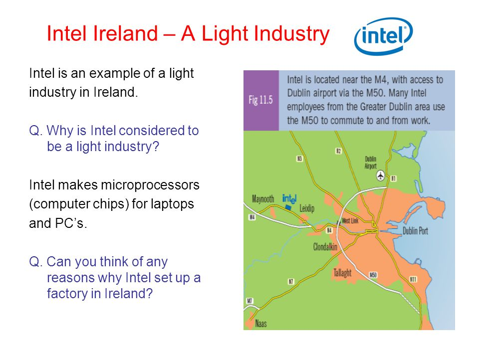 Intel Ireland – A Light Industry