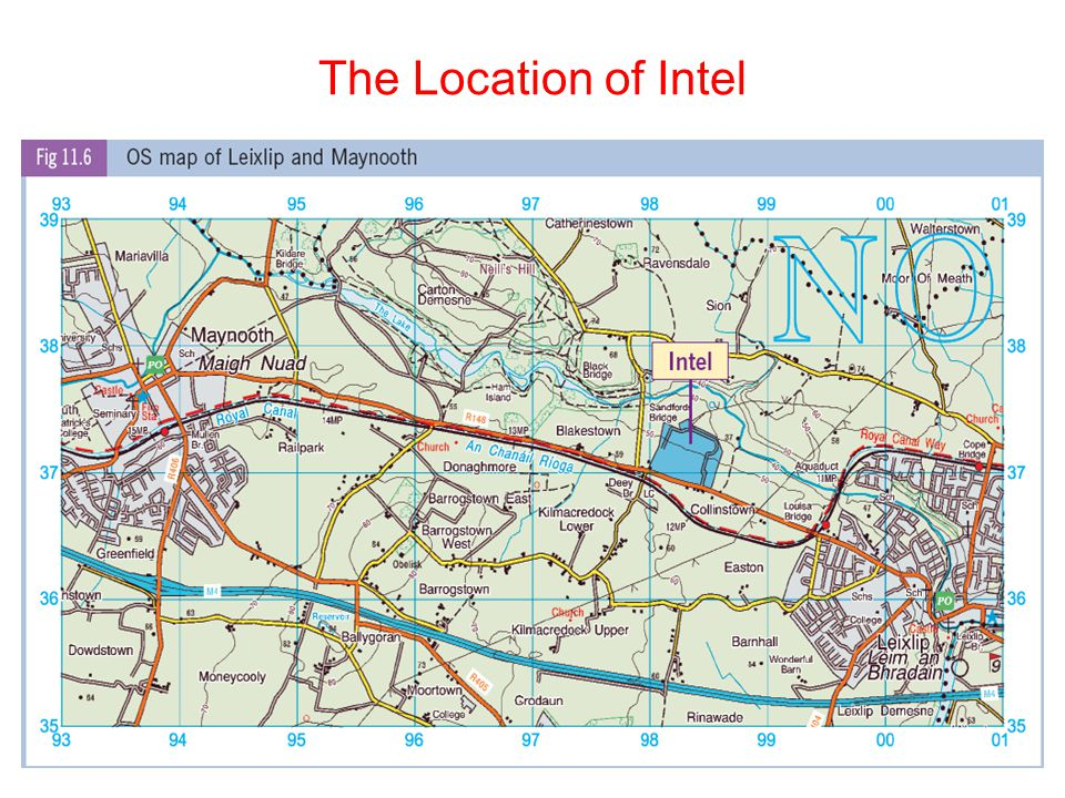 The Location of Intel