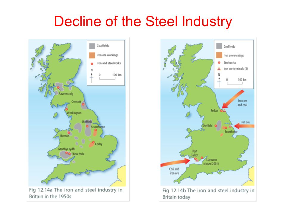 Decline of the Steel Industry