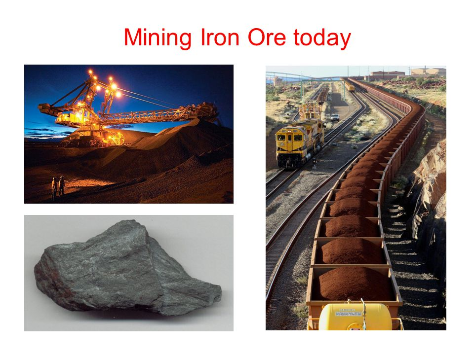 Mining Iron Ore today