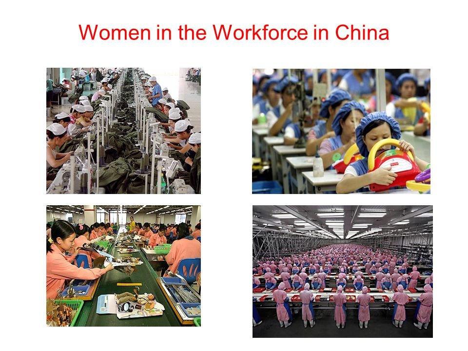 Women in the Workforce in China