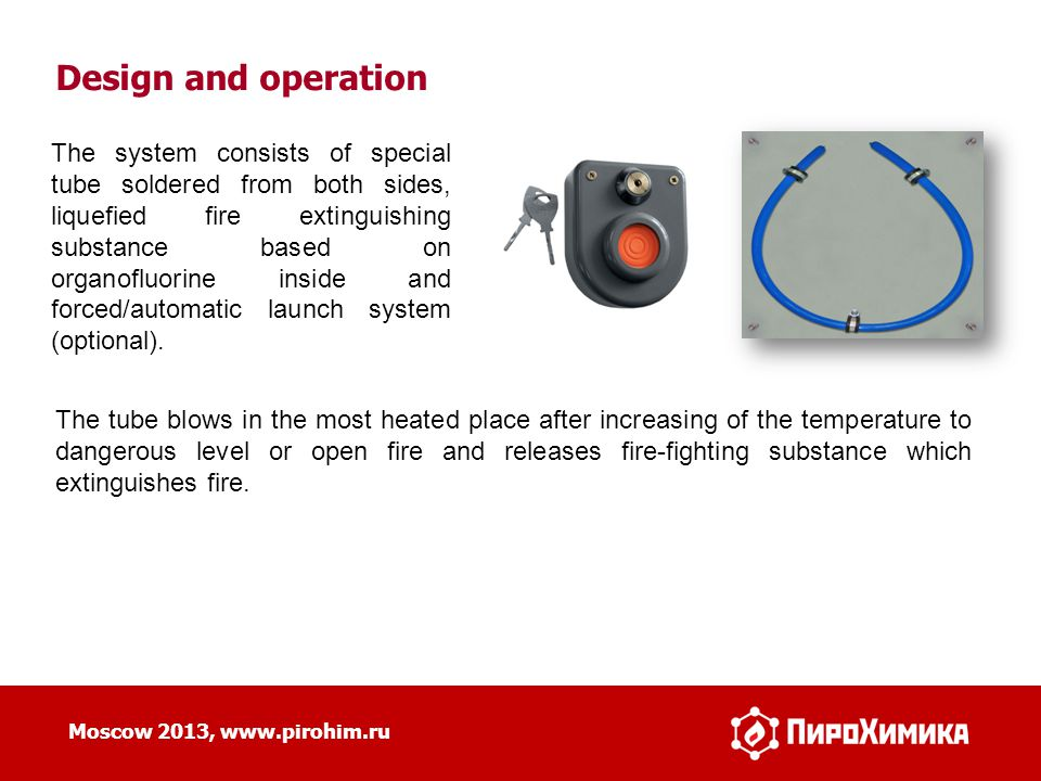 Design and operation