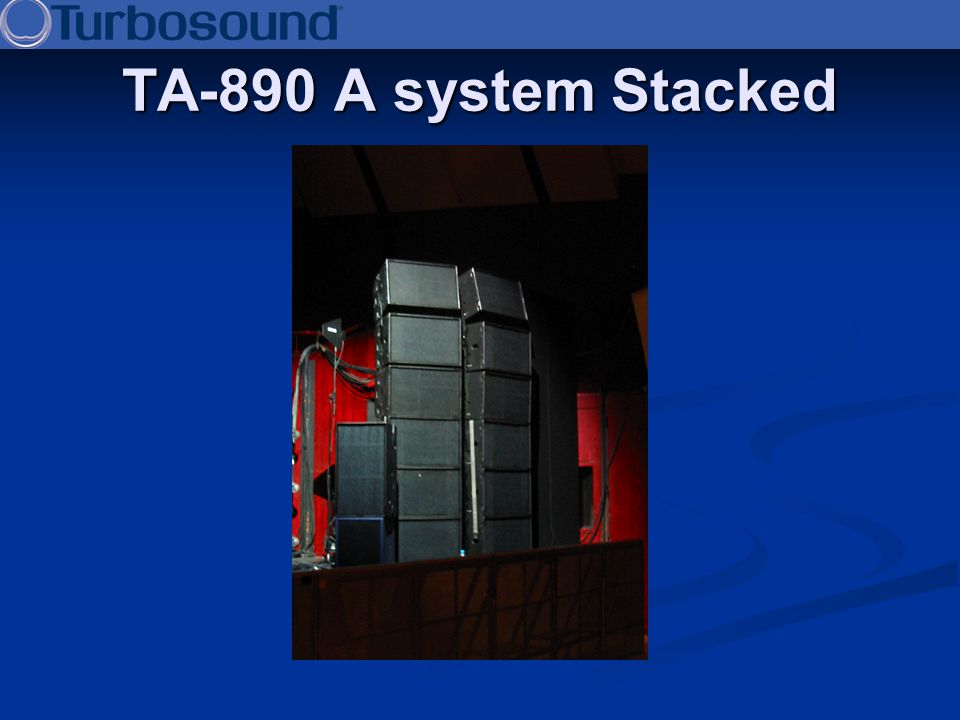 TA-890 A system Stacked