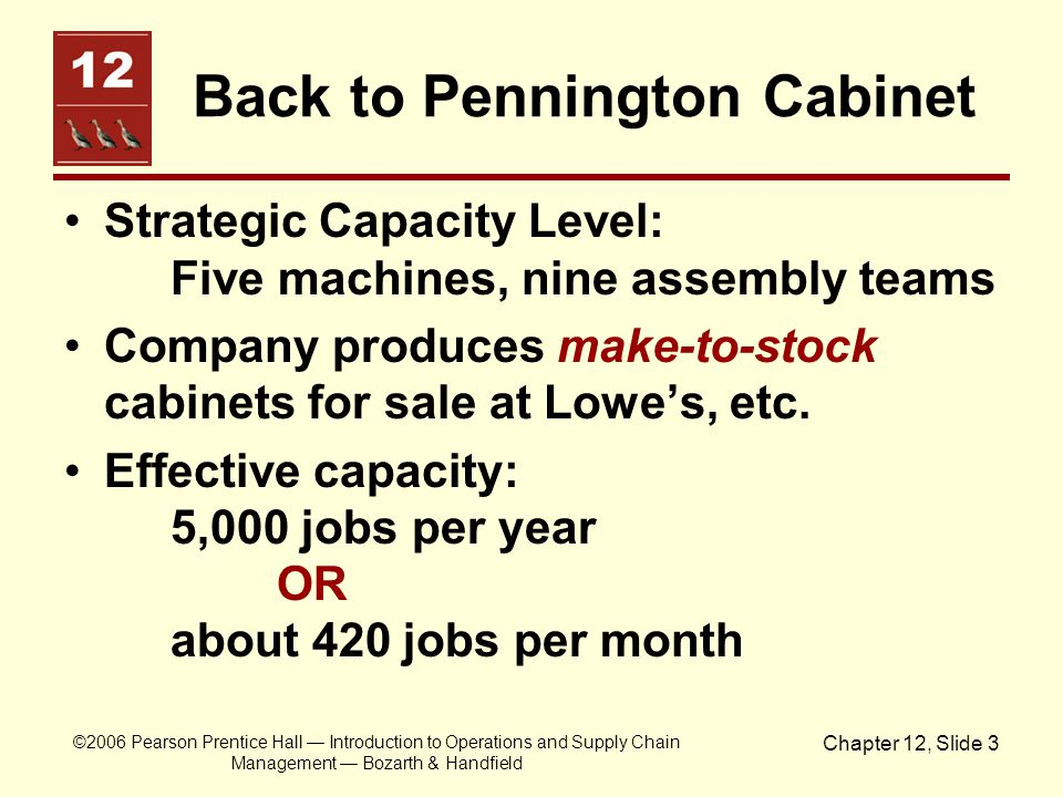 Back to Pennington Cabinet
