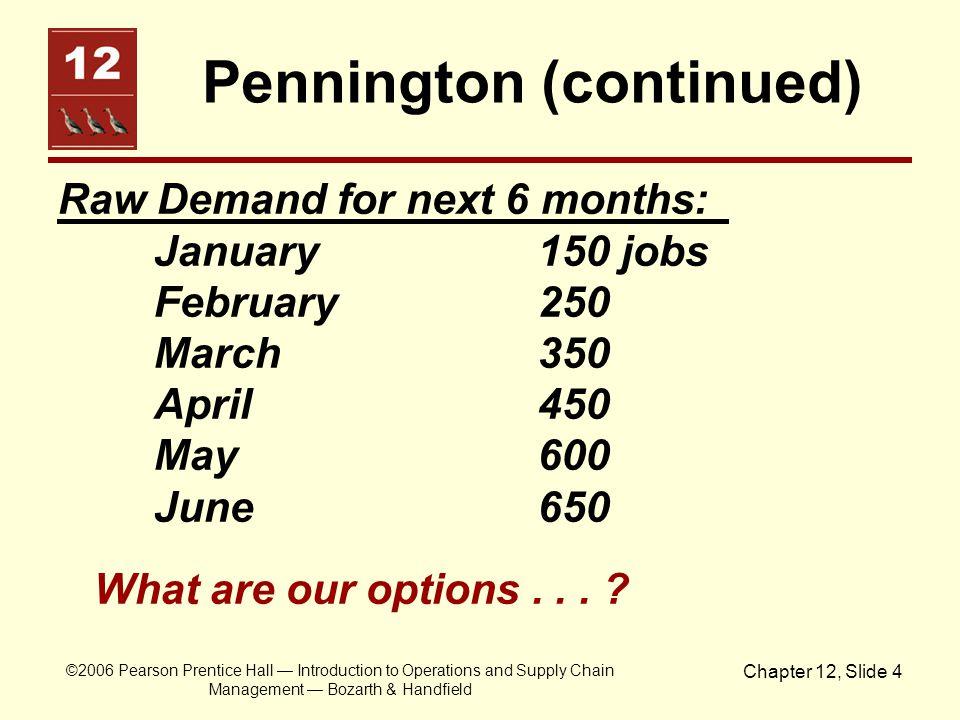 Pennington (continued)