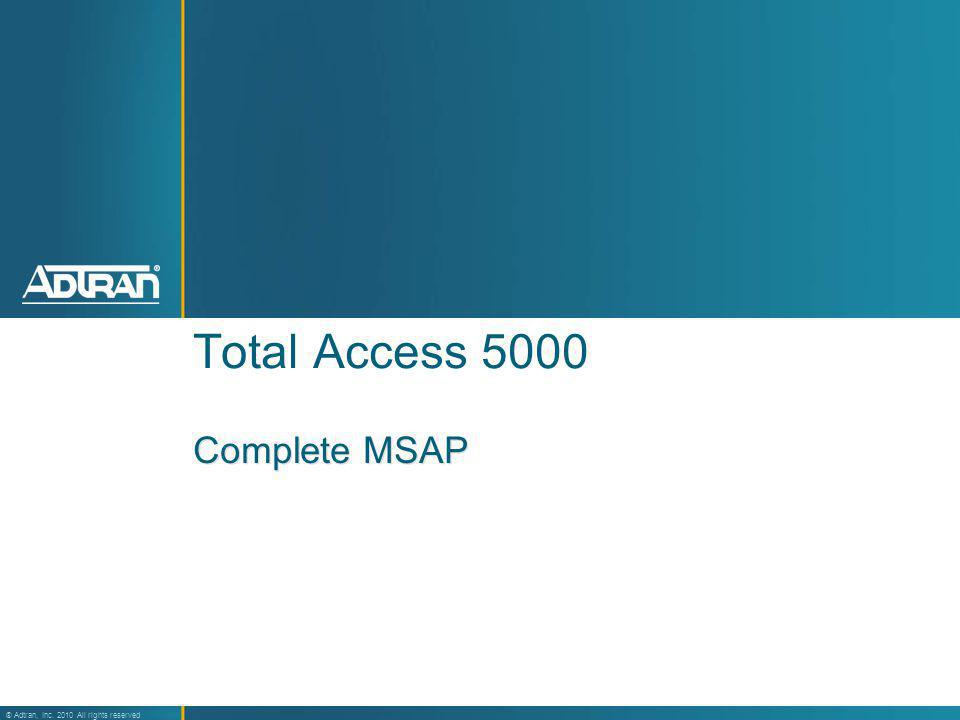 Total Access 5000 Complete MSAP 10