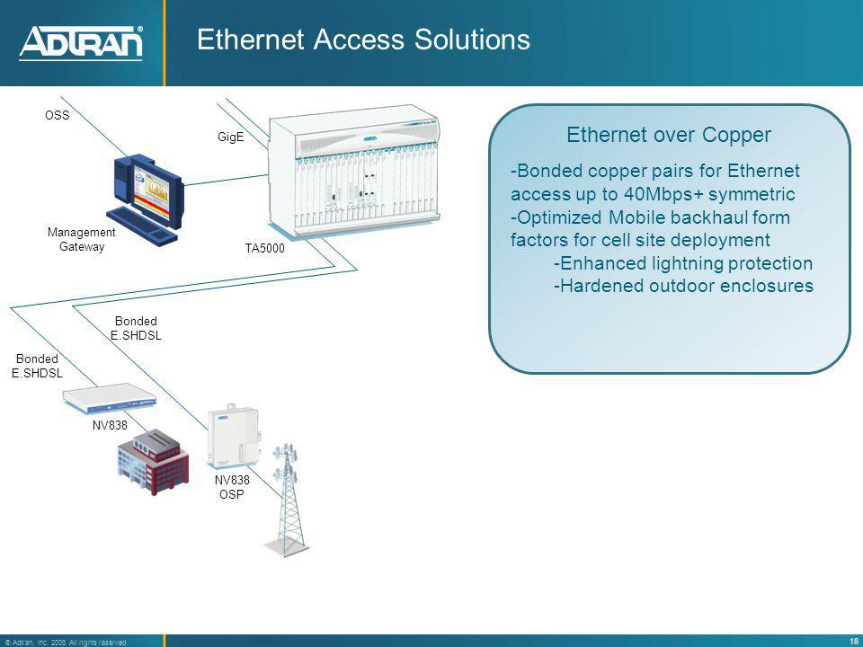 Ethernet Access Solutions