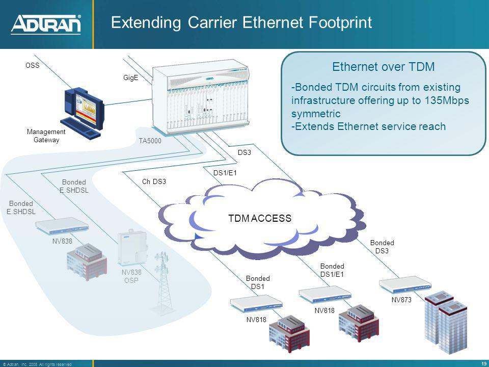 Extending Carrier Ethernet Footprint