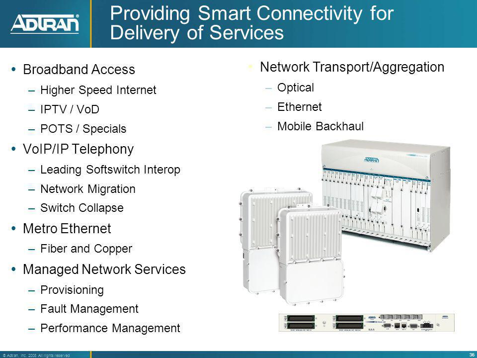 Providing Smart Connectivity for Delivery of Services