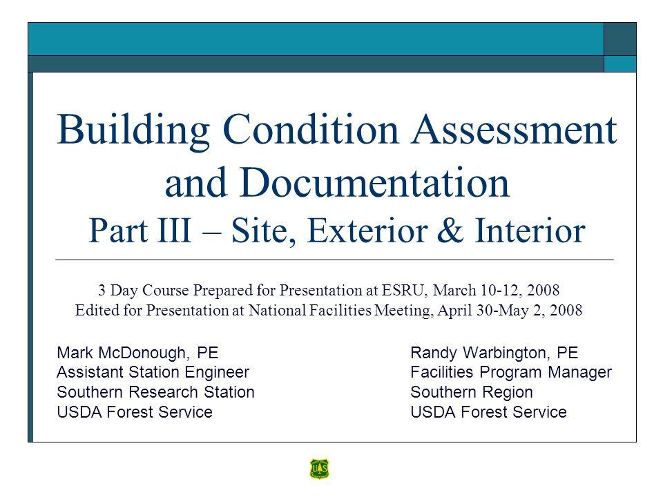 3 Day Course Prepared for Presentation at ESRU, March 10-12, 2008