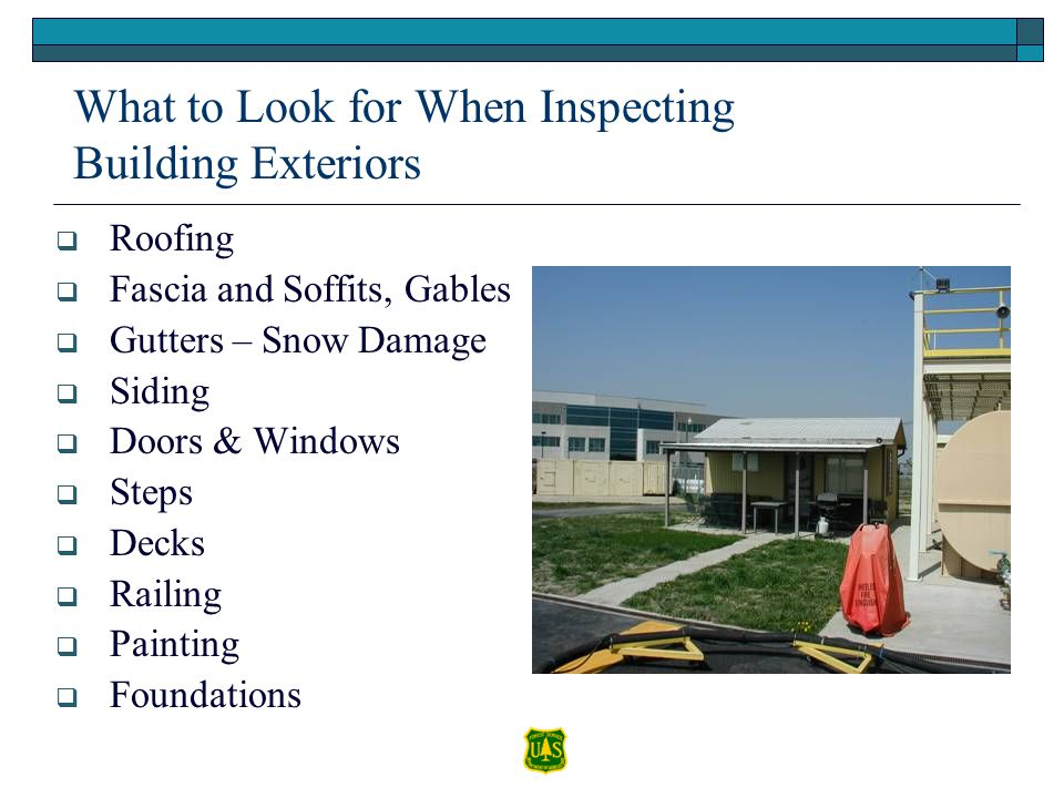 What to Look for When Inspecting Building Exteriors