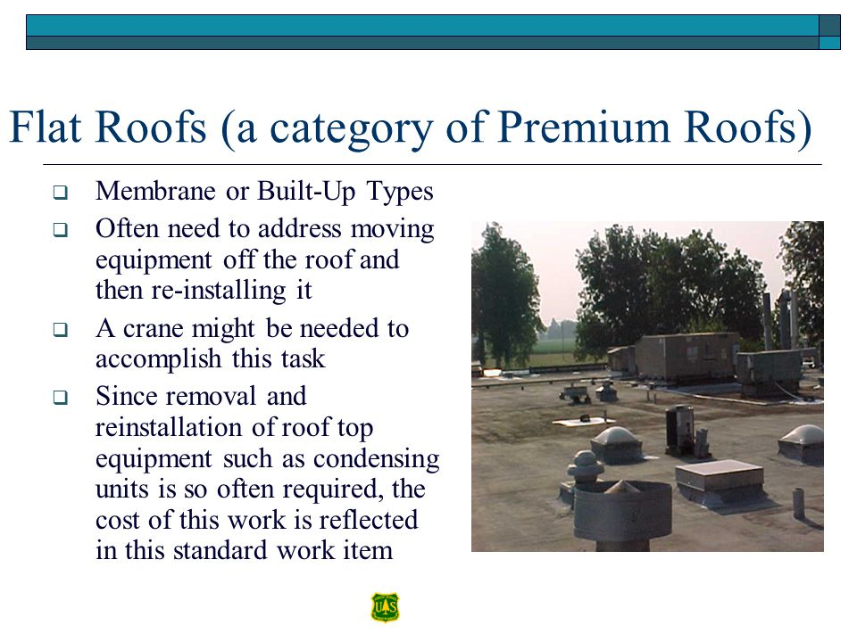 Flat Roofs (a category of Premium Roofs)