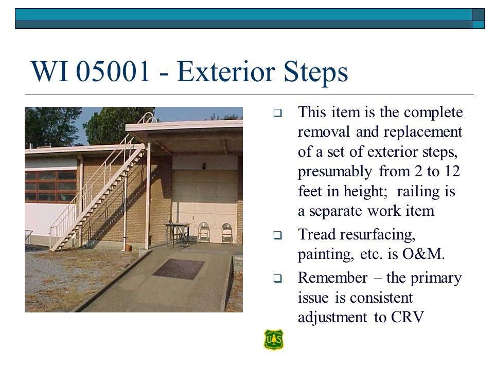 WI 05001 - Exterior Steps