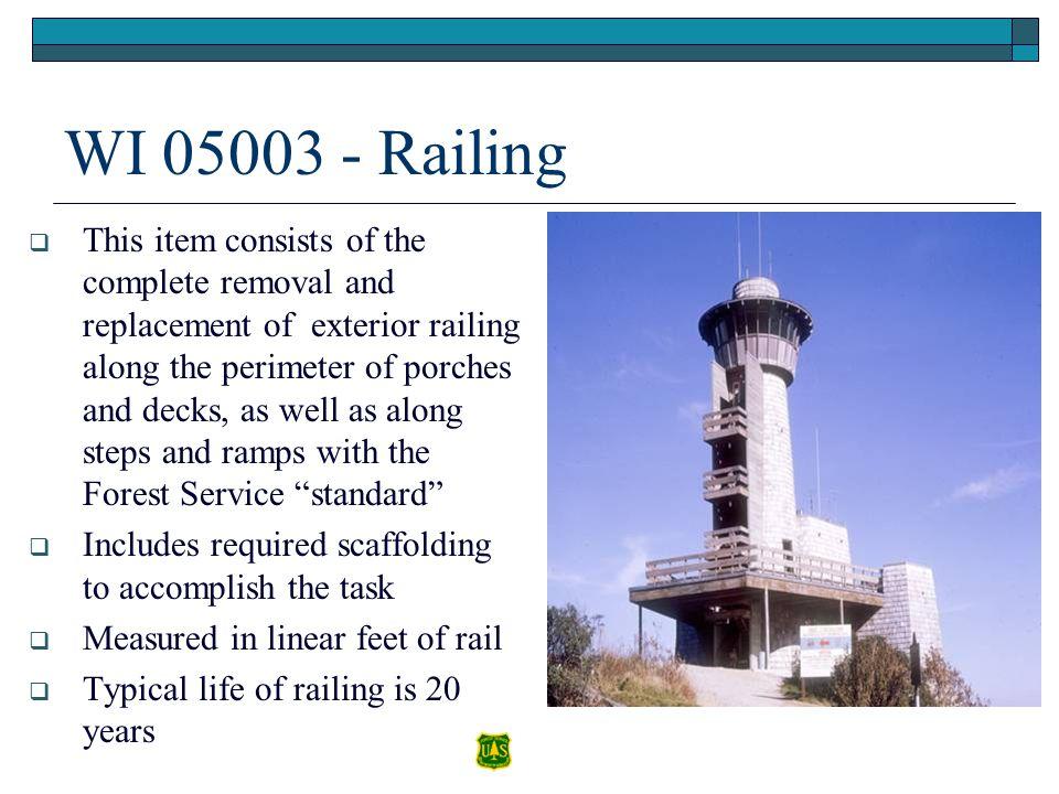 WI 05003 - Railing