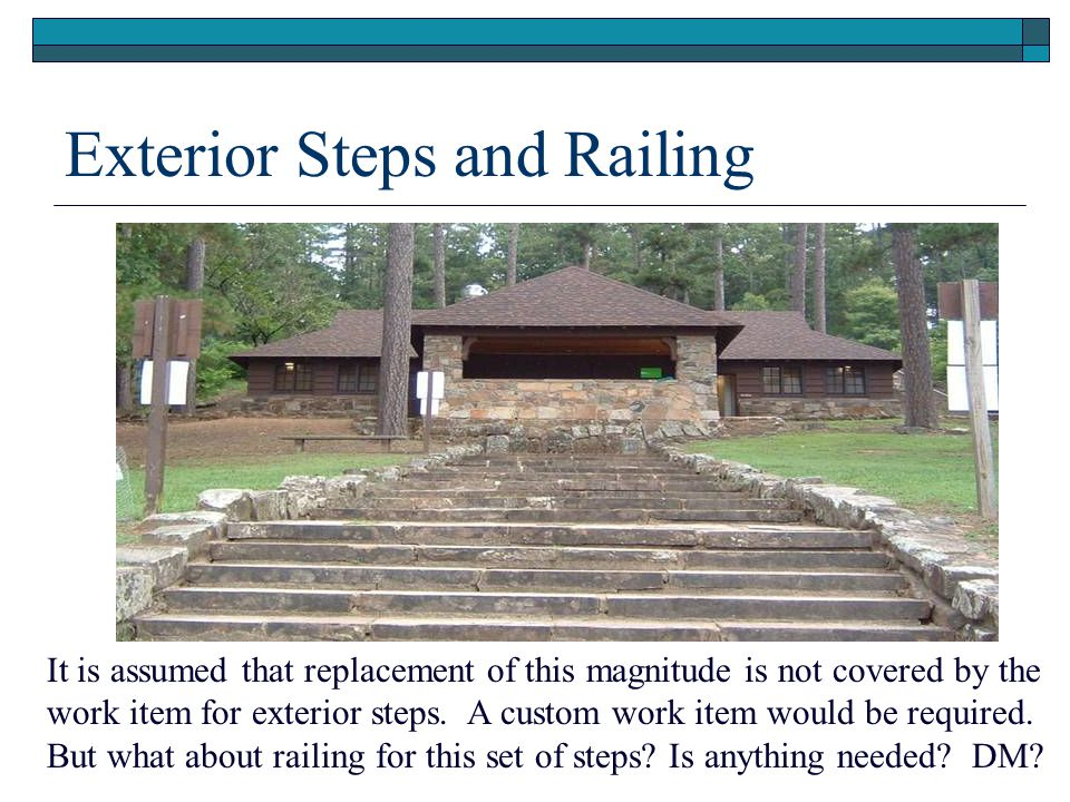 Exterior Steps and Railing
