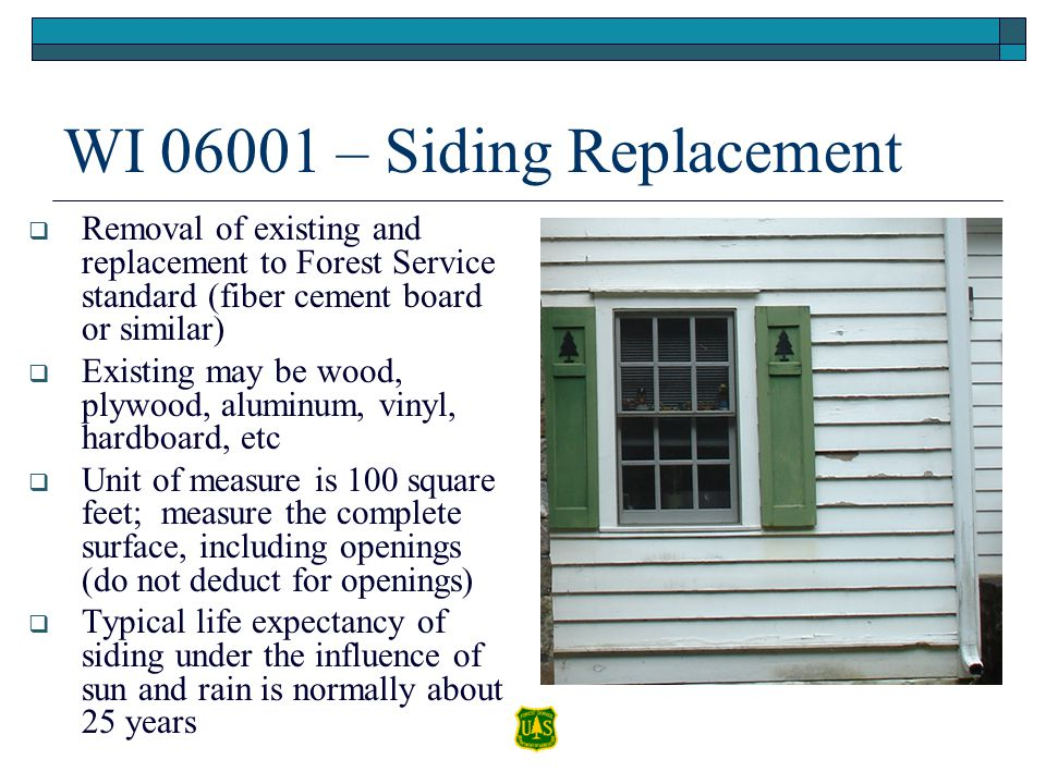 WI 06001 – Siding Replacement