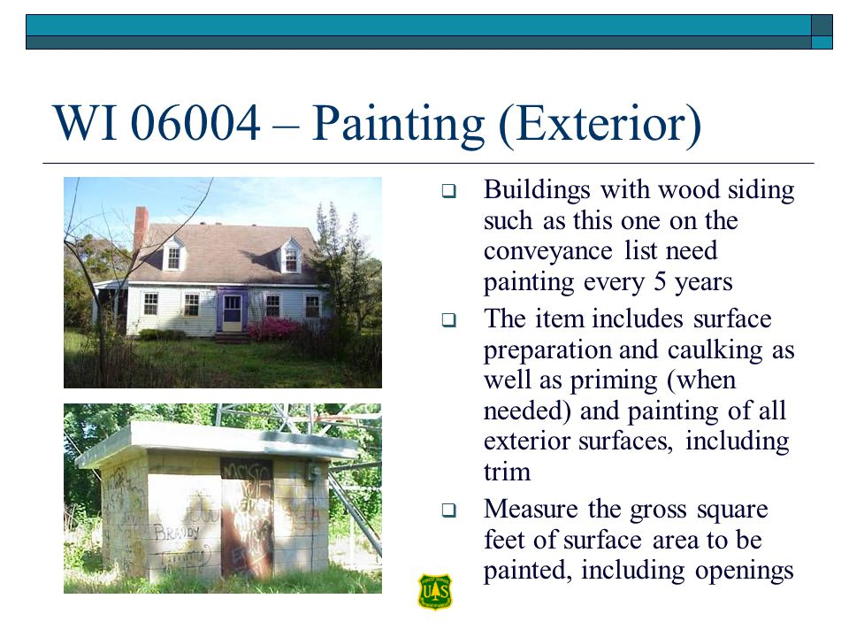 WI 06004 – Painting (Exterior)
