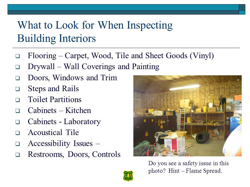 What to Look for When Inspecting Building Interiors