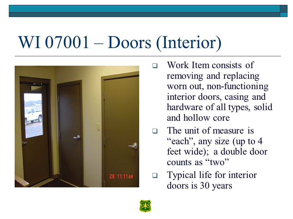 WI 07001 – Doors (Interior)