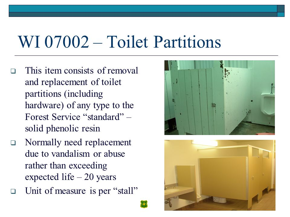 WI 07002 – Toilet Partitions