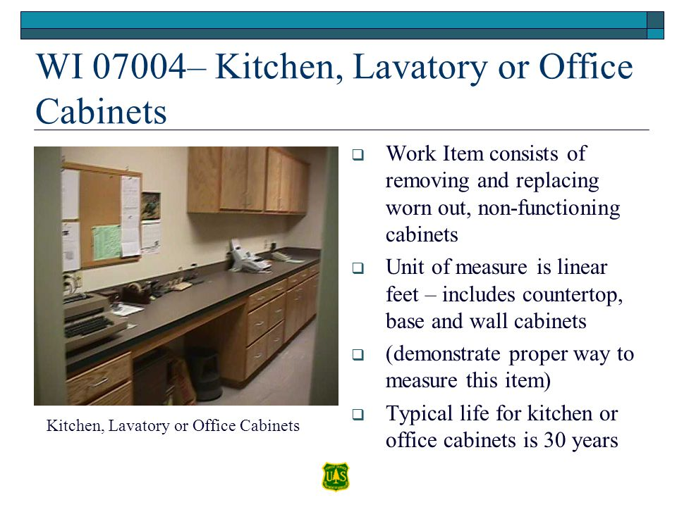 WI 07004– Kitchen, Lavatory or Office Cabinets