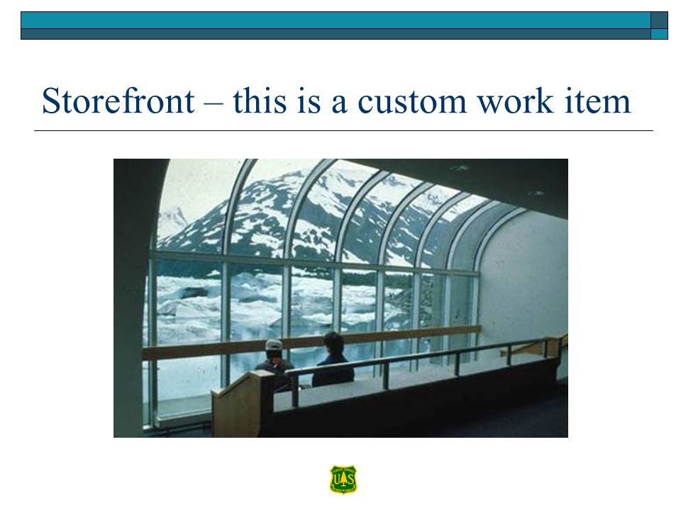 Storefront – this is a custom work item