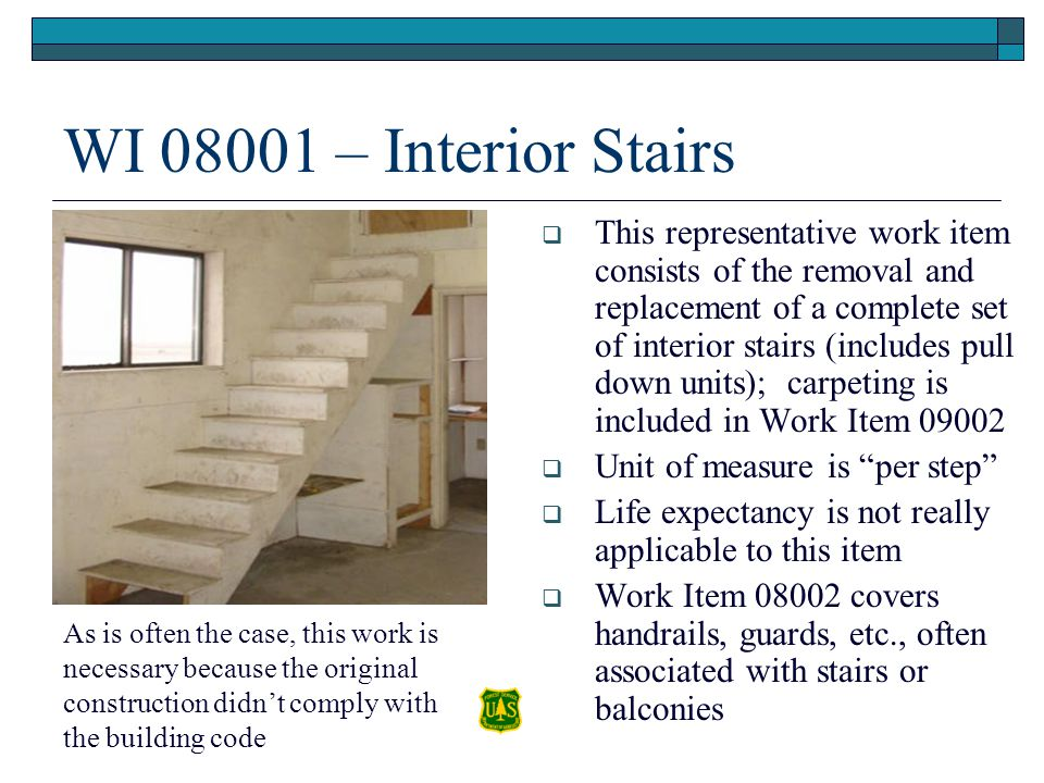 WI 08001 – Interior Stairs