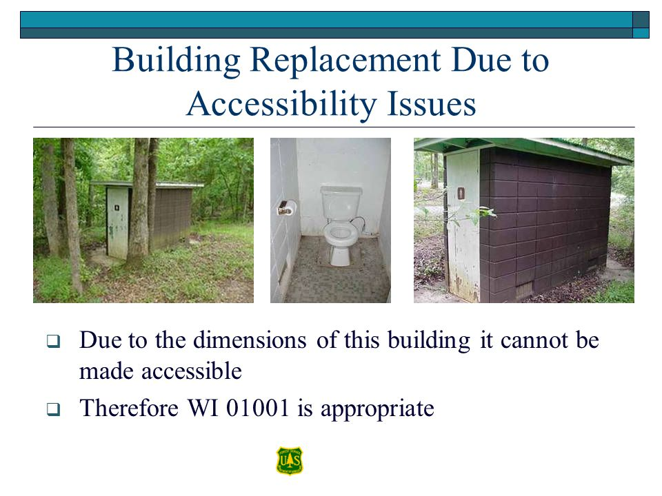 Building Replacement Due to Accessibility Issues