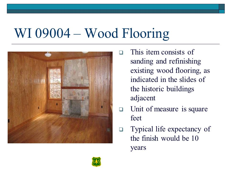 WI 09004 – Wood Flooring
