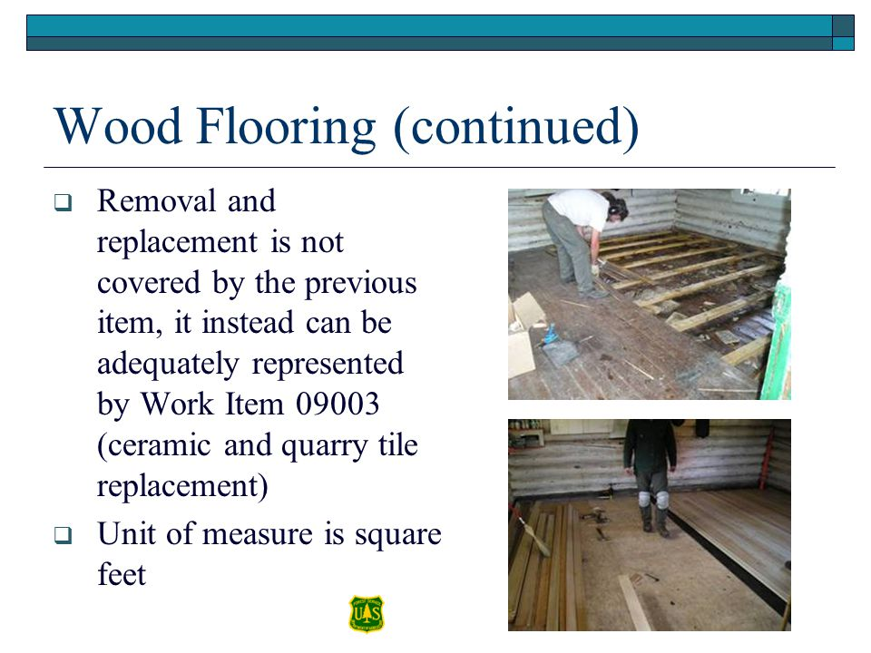 Wood Flooring (continued)