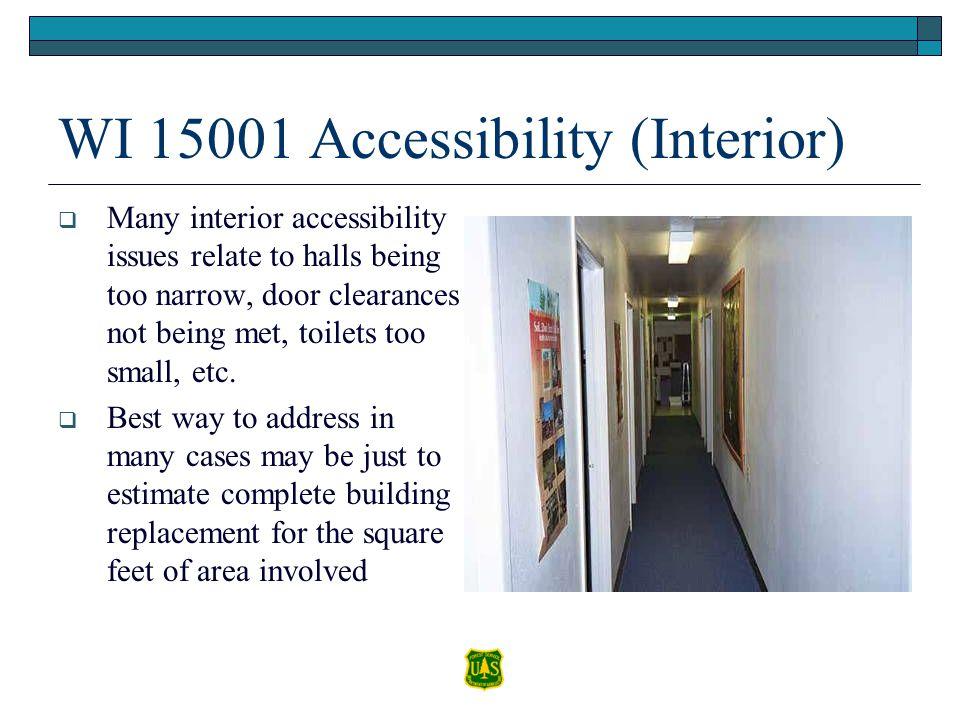 WI 15001 Accessibility (Interior)