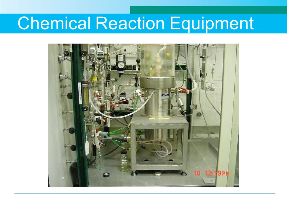 Chemical Reaction Equipment