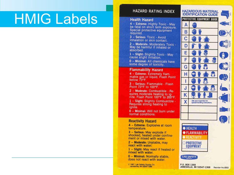 HMIG Labels