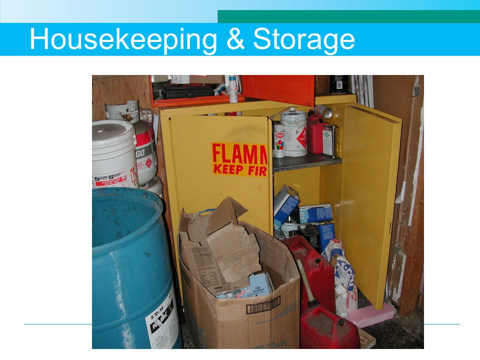 Housekeeping & Storage