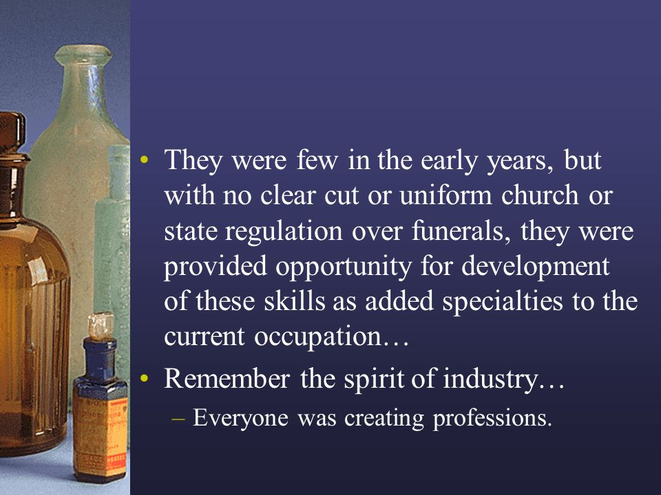 Remember the spirit of industry…