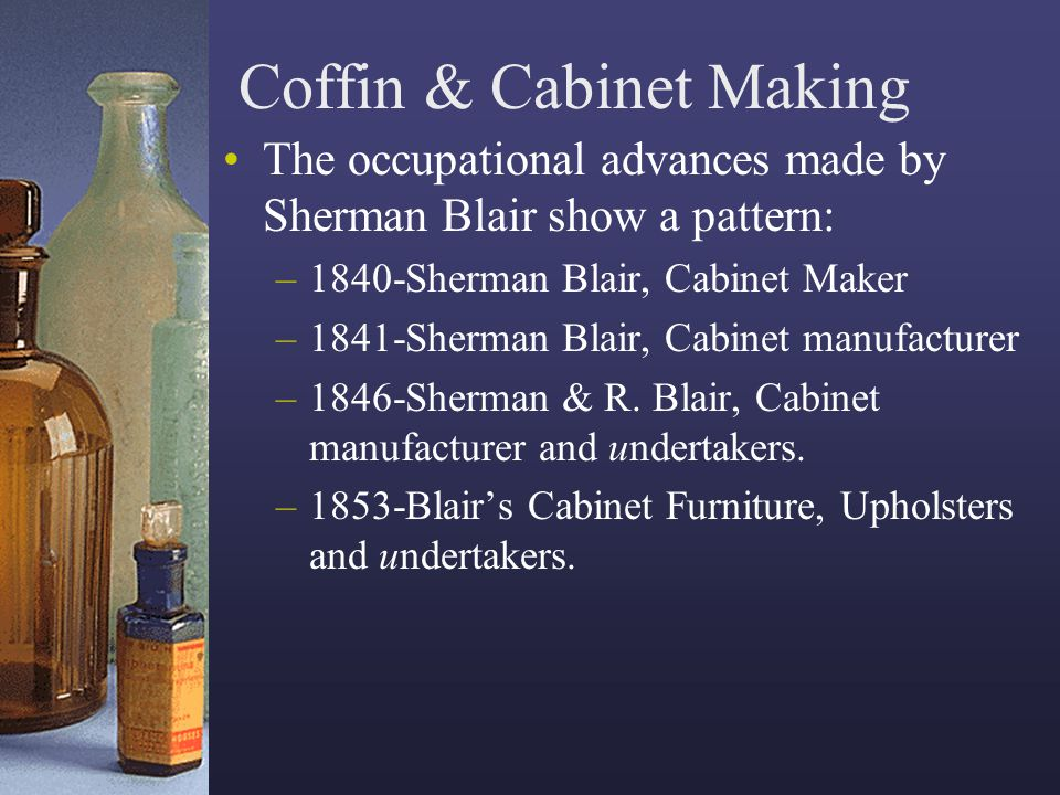 Coffin & Cabinet Making