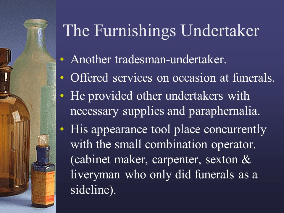 The Furnishings Undertaker