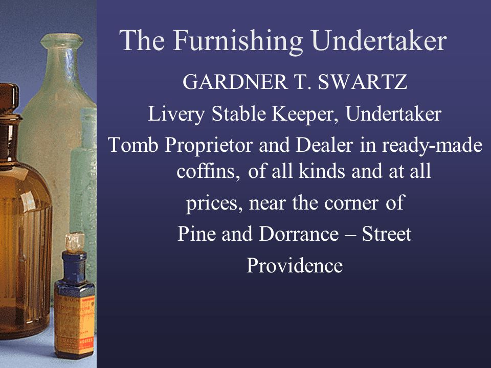 The Furnishing Undertaker