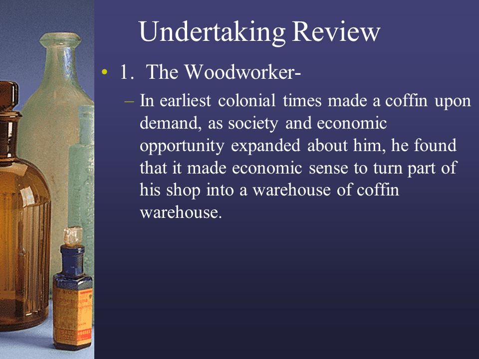 Undertaking Review 1. The Woodworker-