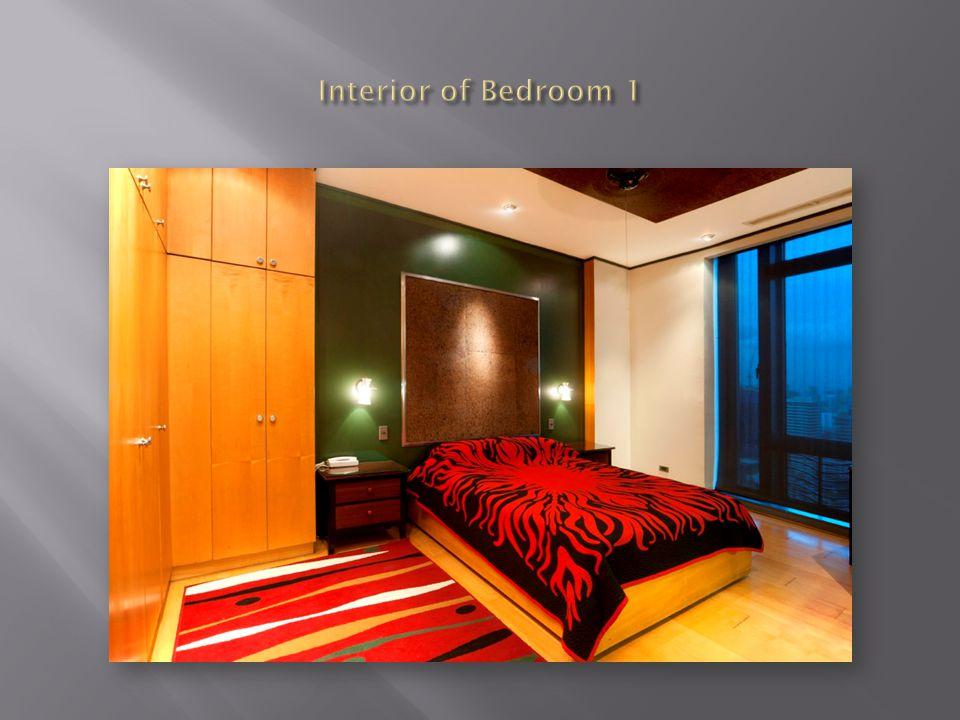 Interior of Bedroom 1